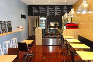 Modinetti Cafe interior