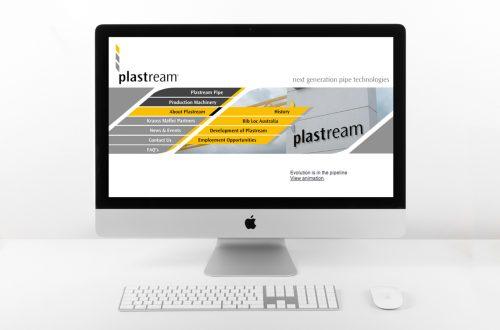 Plastream Website Design