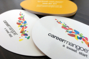 Careermangoe Business Cards Design