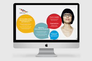 Careermangoe Website Design